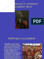 Mihai Viteazul În Contextul Cruciadelor Târzii