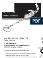 VLF Treasure Detector