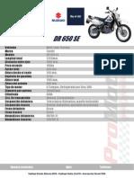 Promoción dr650se