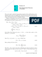 The Fundamental Theorem Difference Equations Differential Equations of Calculus