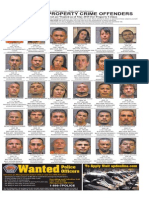 Most Wanted Property Crime Offenders, May 2015