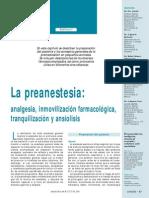 Temas Anestesia PREANESTESIA