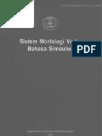 Sistem Morfologi Verba Bahasa Simeulue