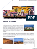 Arquitetura, Arte e Artesanato - Boavista Cabo Verde