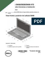 Dell Latitude-E6530 Setup Guide Es