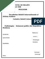 Sistemul Politic in Republica Moldova