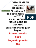 Gallos de Pelea