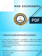 Water Power Engineering