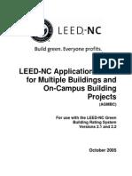 Multiple Buildings-LEED guide