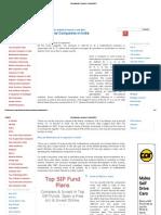 Multinational Companies in India (MNC)