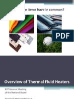 Fluidos Termicos y Circuitos de Calentamiento