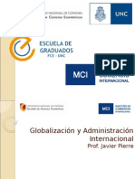 Clase Administración y Globalización