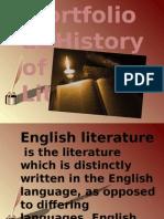 Portfolio at English Literature