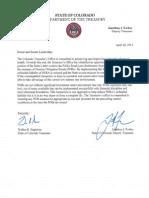 Walker Stapleton April 28, 2015 Letter