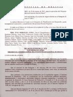 Gaceta No. 671 Decreto Supremo 2078