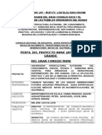 Perfil Proyecto Nimajay 161113