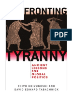 Confronting Tyranny - Ancient Lessons for Global Politics