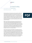 A Fresh Look at School Funding
