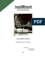 Technológiai Tervezés CNC Esztergára