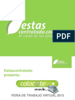 Feria Virtual Regional de Empleo Colocate - Tecoloco Estas 2015