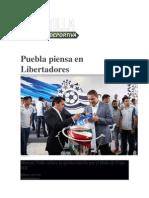 14-05-2015 Planilla Deportiva - Puebla Piensa en Libertadores