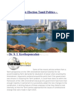 Sri Lanka Post-Election Tamil Politics – Analysis