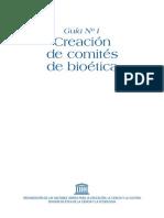 3. UNESCO 2005. Comites de Etica