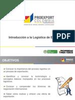 Logistica y Costos de Exportación