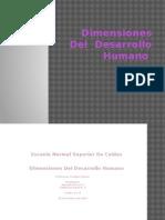 Dimensiones Del Desarrollo Humano