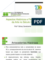 Aspectos Históricos e Filosóficos Da Arte No Século XX 1