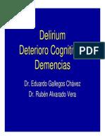 Delirium Deterioro Cognitivo y Demencias 2007