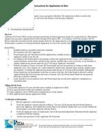 Application for Rent HIGHLAND 2015