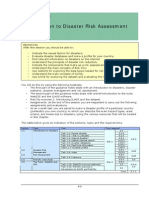 Session 01 Introduction to Risk Assessment