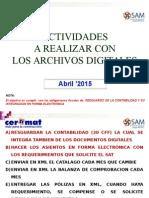 01 XML Actividades a Realizar