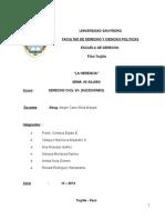 Trabajo Derecho Civil VII-LA HERENCIA
