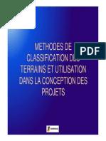 Classification Des Terrains