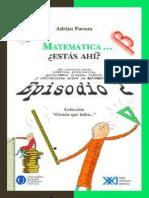 2. Matematica Estas Ahi - Adrian Paenza