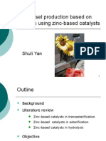 Shuli- Using Zinc Oxide Catalysts in Biodiesel Production