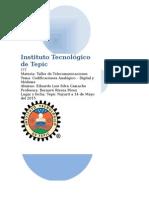 Codificacion analogico-digital y tipos de Modems