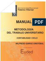 Manual de Metodologia Del Trabajo Universitario Euded 2014 Dr Quirozc (1)