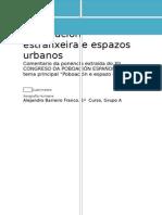 Inmigración Estranxeira e Espazos Urbanos