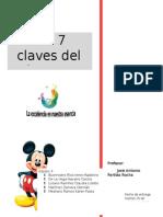 Las 7 Claves de Éxito de Disney