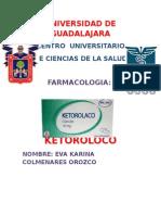 farmacologia keterolaco