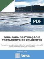 Guia Para Destinação e Tratamento de Efluentes