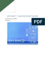 Epi Info 7 Quick Start Guide