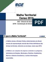 Malha Territorial Censo 2010