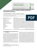 González-Fernández 2012 Thermal Pretreatment to Improve Methane Production