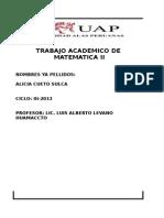 t.a. de Matematica II