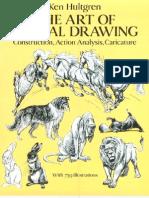 The art of animal drawing(szkice zwierząt)