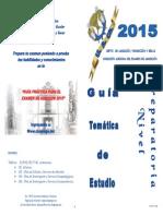 Guía de Estudio Para Preparatoria 2015